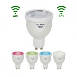 Mi-Light LED GU10 Spot 4W RGB/Warm wit WiFi/RF Controlled